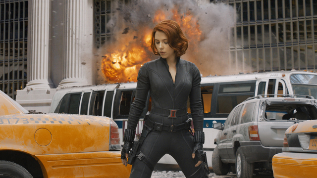Scarlett Johansson as The Black Widow