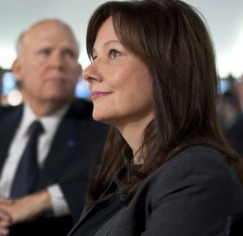 Mary Barra is GM's new CEO