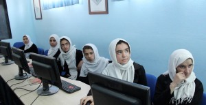 Womens Annex Foundation computer lab