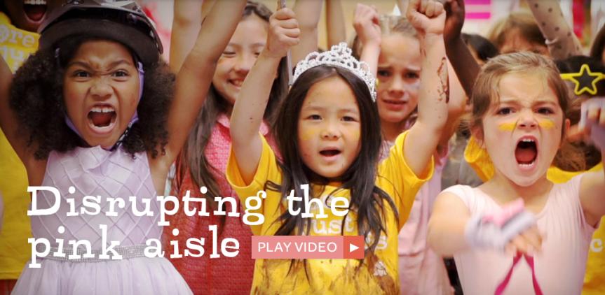 GoldieBlox Builds Girls IntoEngineers