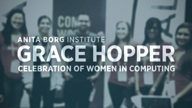 Grace Hopper Celebrates Women in Tech