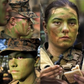 First Female US Marines Infantry Grads