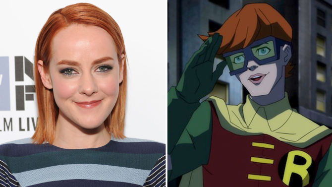 Holy Female Leads, Batman! Jena Malone isRobin