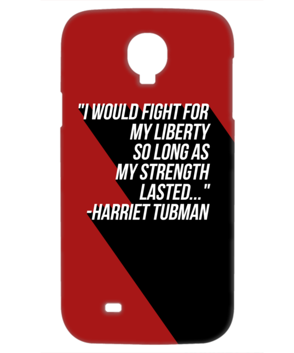Fight For Liberty Samsung Galaxy S4 phone case_red