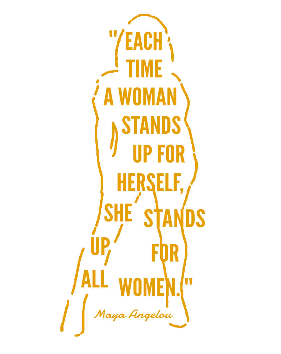 She Stands Up design1_gold